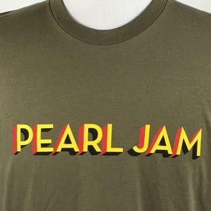 Pearl Jam 2016 North America Tour T-Shirt SZ Large